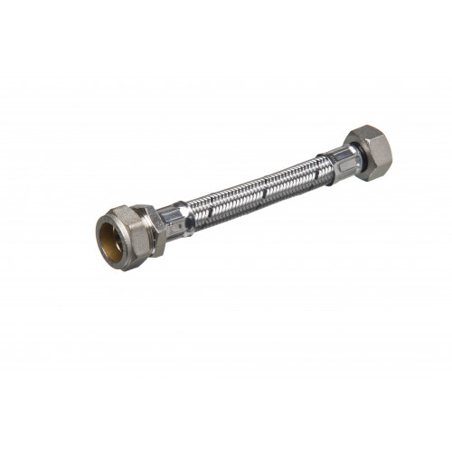 """Flexible Tap Connector - 22mm x ¾"""" x 300mm"""