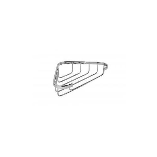Croydex Stainless Steel Small Corner Shower Basket Main