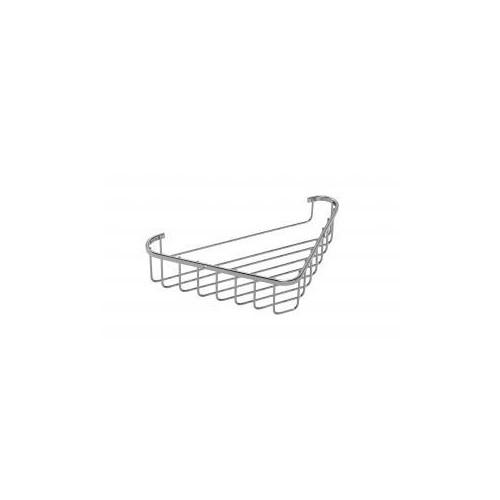 Croydex Stainless Steel Large Corner Shower Basket Main