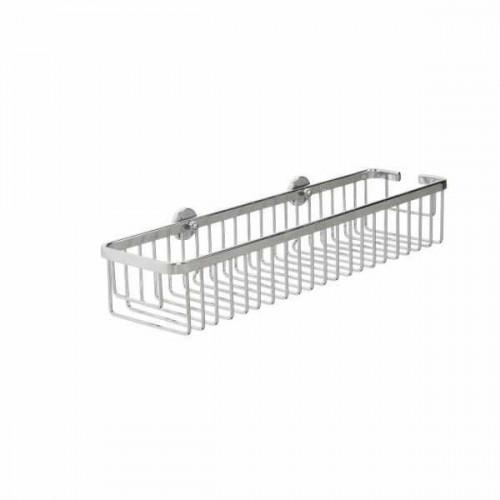 Croydex Slimline Aluminium Long Shower Basket Main