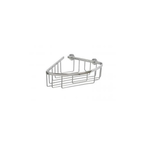 Croydex Slimline Aluminium Corner Shower Basket Main