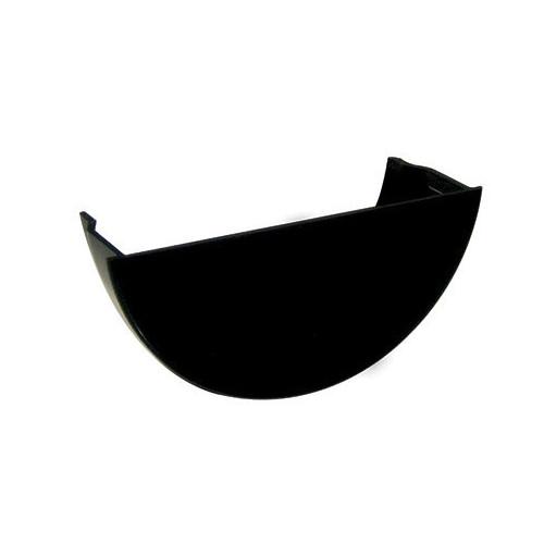 Floplast Internal Stop End Round (Black) - 112mm