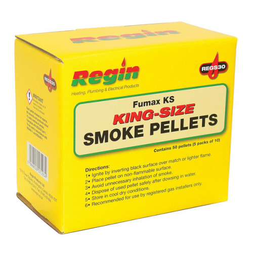 Regin King Size Smoke Pellets - 50