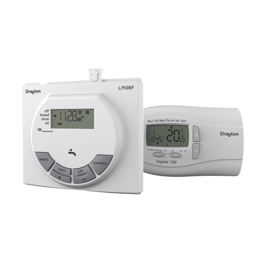 LP10RF Clip In Single Channel Programmable Roomstat Digistat For Worcester Boilers