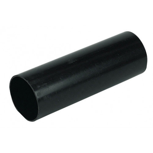Floplast ABS Solvent Weld Wastepipe (Black) - 40mm x 3m