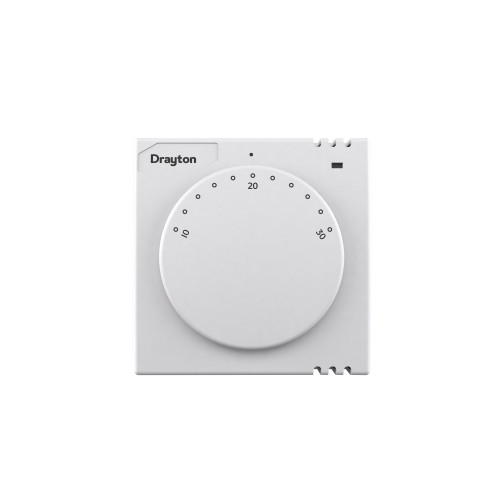 Drayton RTS2 Dial Room Thermostat With On/Off LED Light
