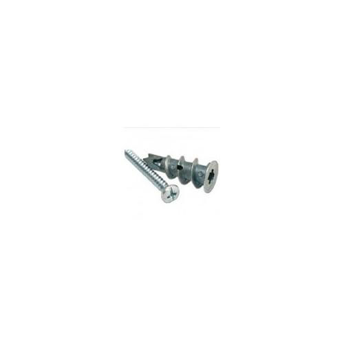 Forgefix Self Drive Metal Plasterboard Fixing + Screw 35mm - Box 100