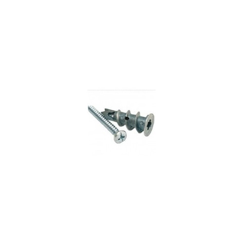Forgefix Self Drive Metal Plasterboard Fixing + Screw 35mm - Box 100