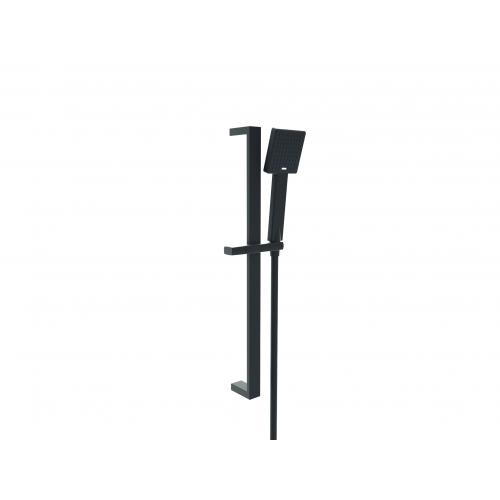 Kartell Nero Square Slide Rail Kit - Matt Black