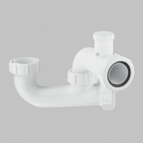 McAlpine Deap Seal Anti-Syphon Bath Trap - 40mm