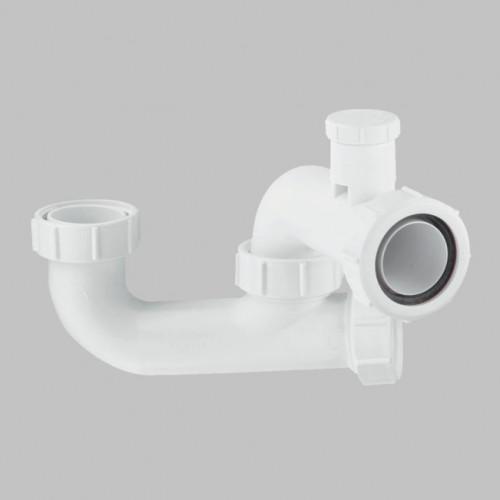 McAlpine Deap Seal Anti-Syphon Bath Trap - 40mm