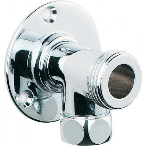 Aqua Backplate Elbows Suitable For Bar Showers (Pair)