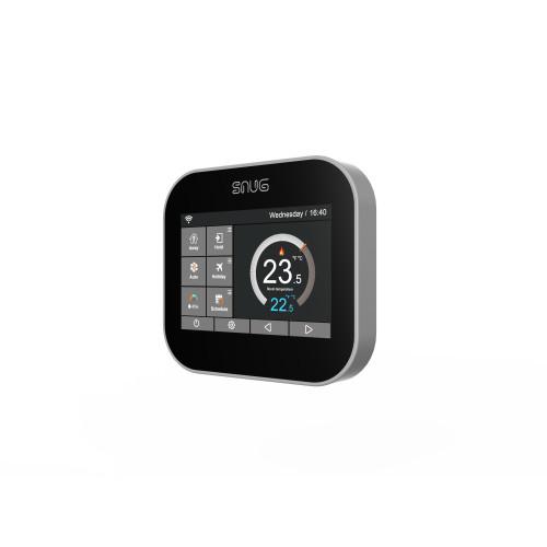 Snug Floor & Air Sensing Black Touch Screen Programmable Controller