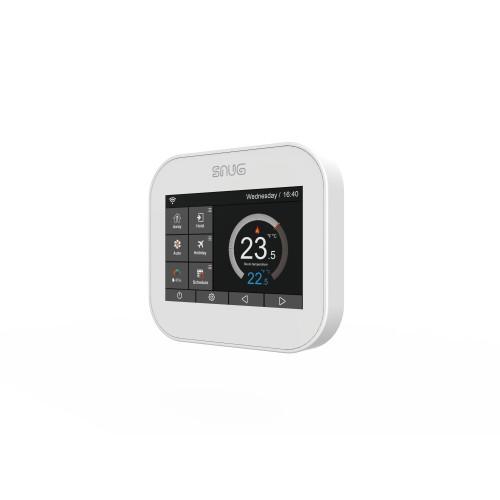Snug Floor & Air Sensing White Touch Screen Programmable Controller