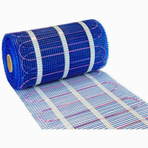 Snug Under Floor Heating Mat Kit 3m², 160 w/m² + Graphite Press Button Programmable Thermostat