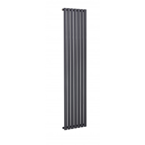 Biasi Sofia 1800mm x 468mm Vertical Single Anthracite Radiator