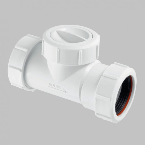 McAlpine In-Line Non Return Valve 40mm