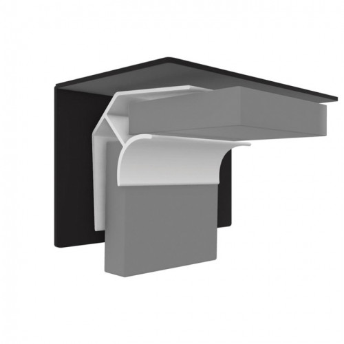Multipanel Ceiling Internal Corner Profile - Silver