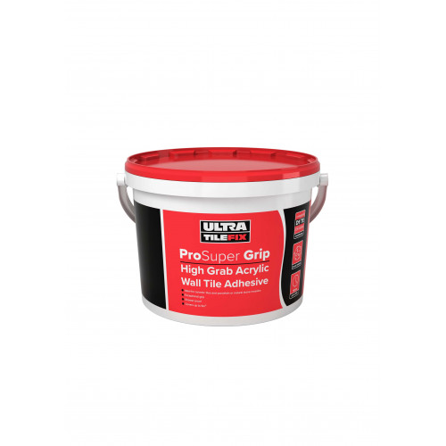 Ultra Tile Fix High Grab Acrylic Tile Adhesive - 15Kg