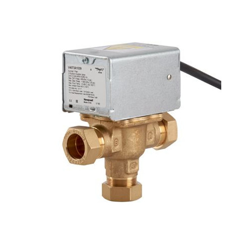 Honeywell V4073A 3 Port Motorised Zone Valve - 22mm