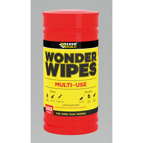 Everbuild Multi-Use Wonder Wipes - 100