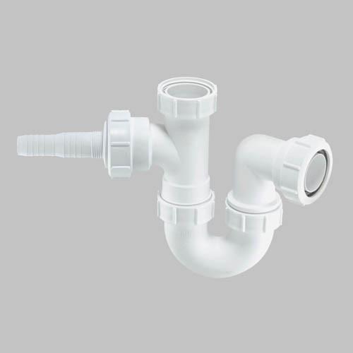 McAlpine Washing Machine Trap With 1 Inlet Spigot - 40 mm