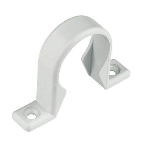 Flolast Pushfit Pipe Clip (White) - 40mm