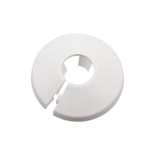 Plastic Pipe Shroud (White) - 15mm