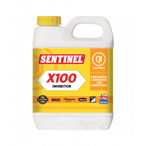 Sentinel X100 Central Heating Protector - 1l