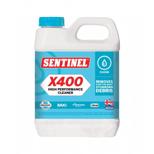 Sentinel X400 High Performance Central Heating Cleaner - 1l