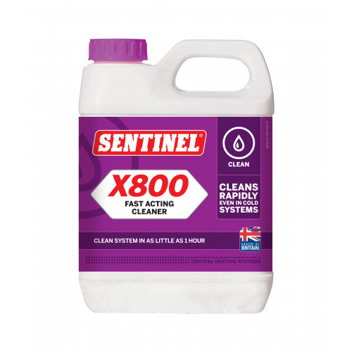 Sentinel X800 Fast Acting Central Heating Cleaner - 1l