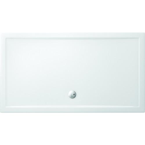 Zamori 1400mm x 900mm Rectangular Walk-In Shower Tray - Anti Slip Base