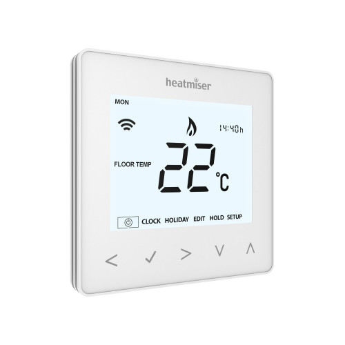 Heatmiser neoAir Wireless Smart Thermostat Control - White