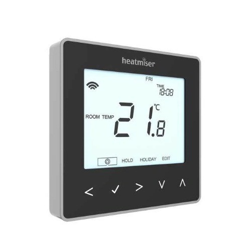 Heatmiser neoStat Smart Thermostat Control - Black