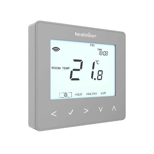 Heatmiser neoStat Smart Thermostat Control - Silver